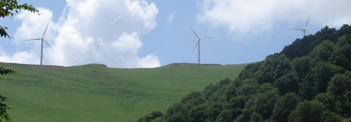 Wind Farm in Lori region, Armenia