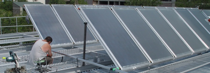 Solar Water Heating System, Yerevan 